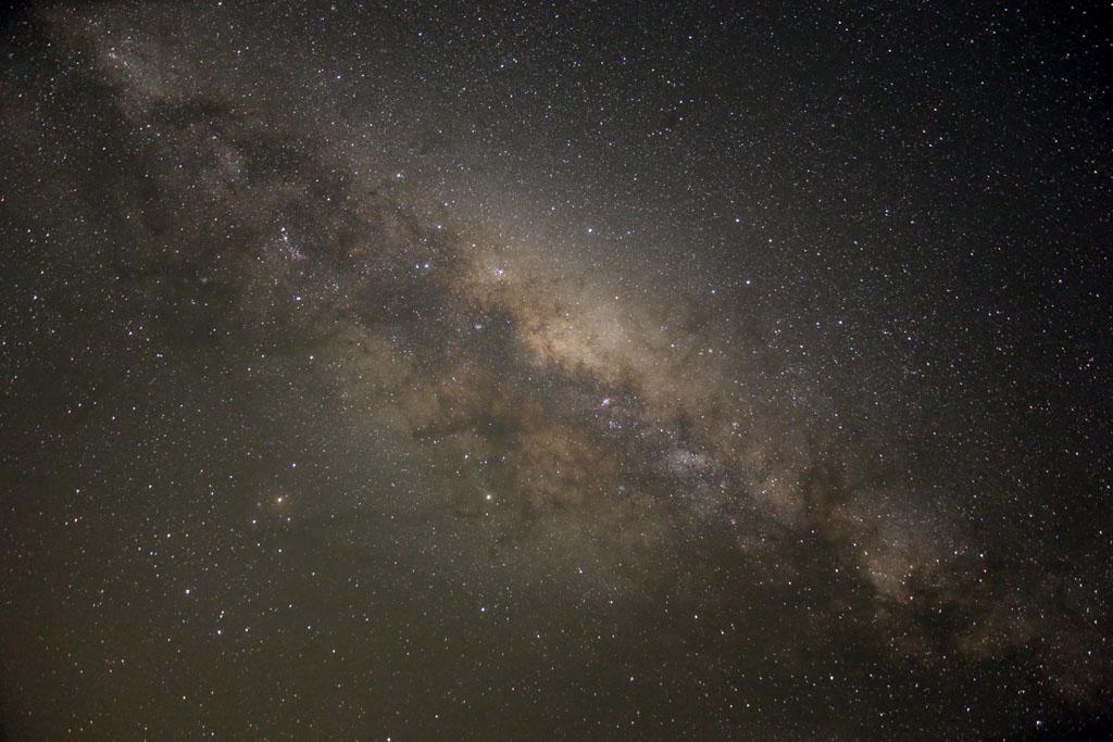 Ciel austral : Voie Lactée et nuages de Magellan SA-A06