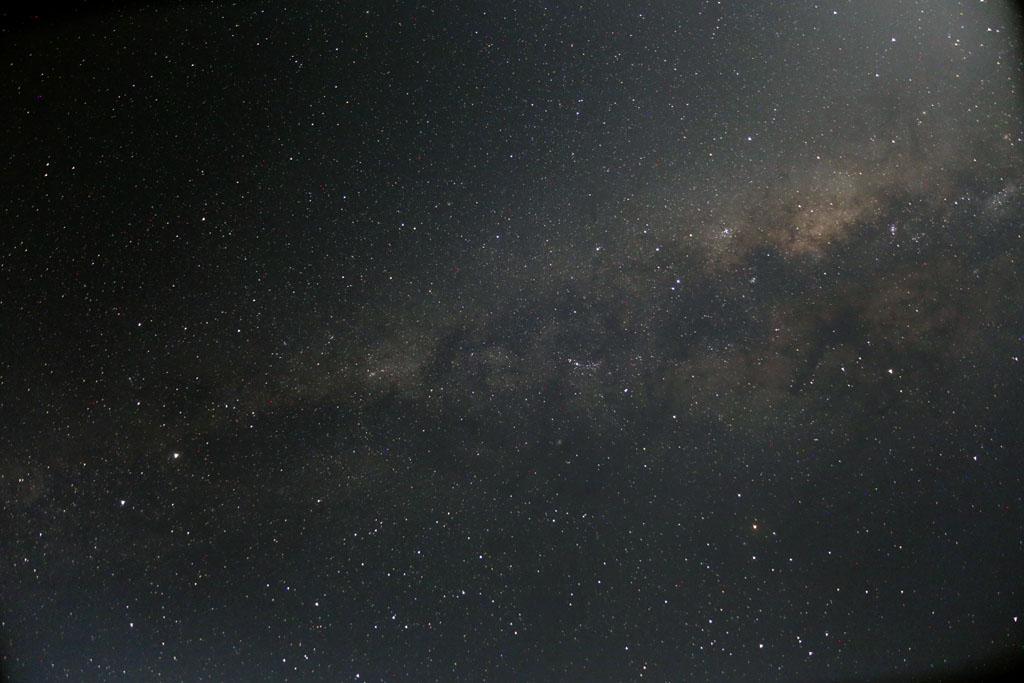 Ciel austral : Voie Lactée et nuages de Magellan SA-A14